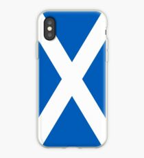 Flag of Scotland - High quality authentic version iPhone Case