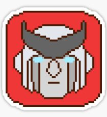 Pixel Ratchet Sticker
