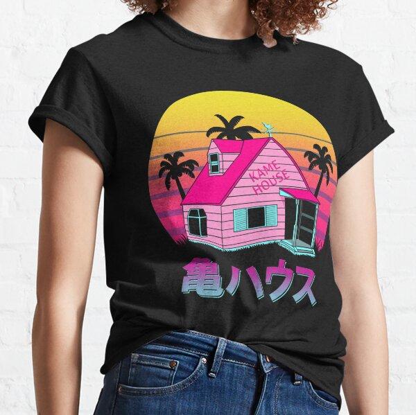 Retro Kame House Camiseta clásica