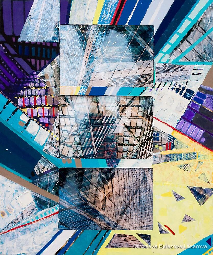Urban Abstract II.c by Miroslava Balazova Lazarova