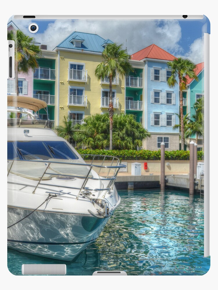 Tropical Paradise in The Bahamas | iPad Case by Jeremy Lavender Photography