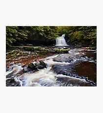 West Burton Falls (Cauldron Falls) - The Yorkshire Dales Photographic Print