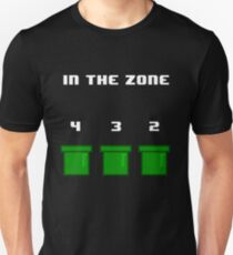 In The Zone (White Text) Unisex T-Shirt