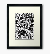 032 Framed Print
