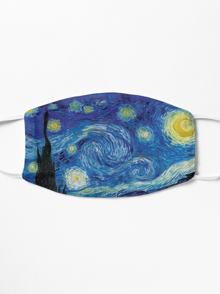 Alternate view of Vincent Van Gogh - Starry Night Mask