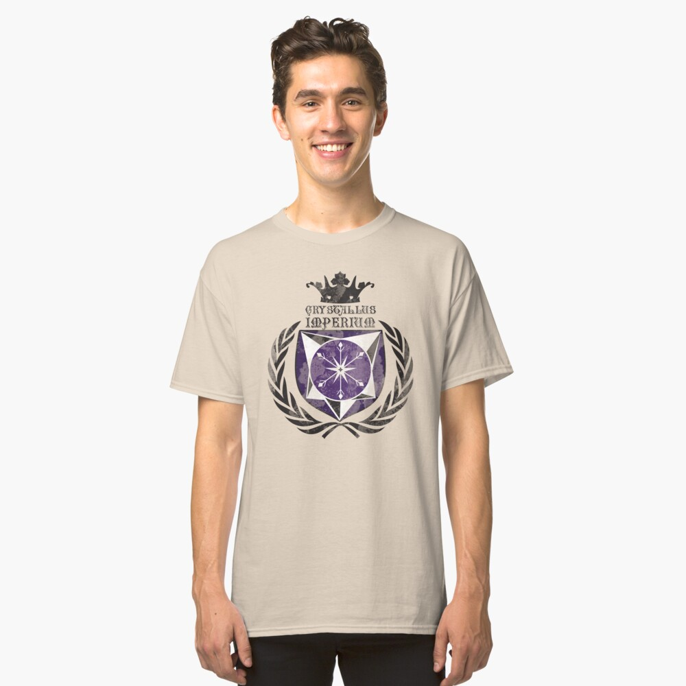 Crystal Empire Coat of Arms Classic T-Shirt Front