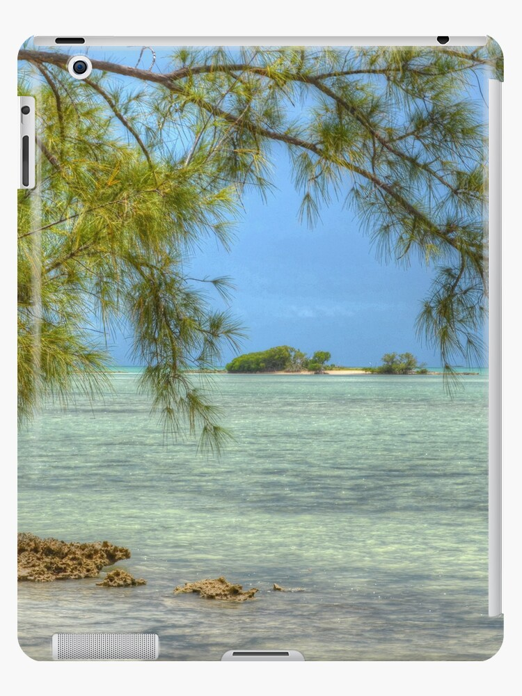 Small Island in The Bahamas   iPad Case by Jeremy Lavender Photography