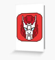 Pixel Ratchet [IDW] Greeting Card
