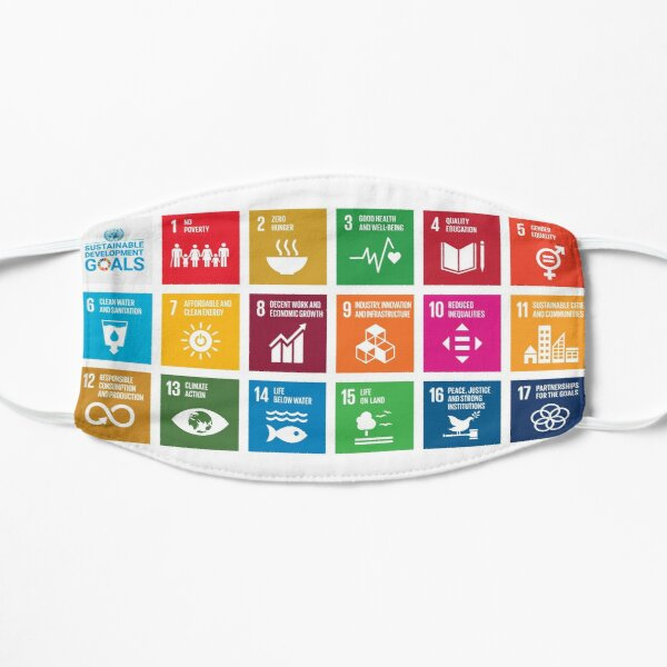 The Sustainable Development Goals - English Version (All profits are for a reforestation project.) Mask