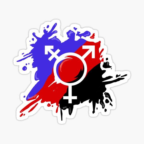 Polyamorist trans  Sticker