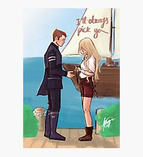 I'll always pick you Photographic Print