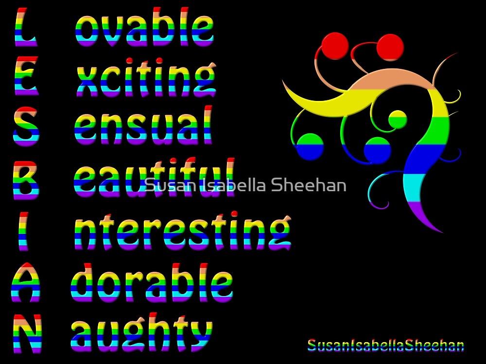 Lesbian by Susan Isabella  Sheehan