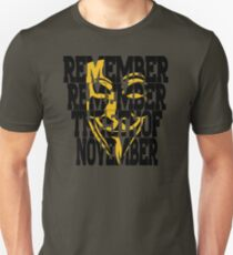 5th of nov T-Shirt