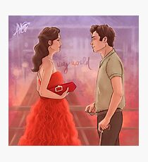 My world Photographic Print