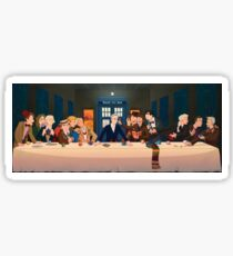 Last Tea & Biscuits - Doctor Who Sticker