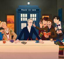 Last Tea & Biscuits - Doctor Who Sticker