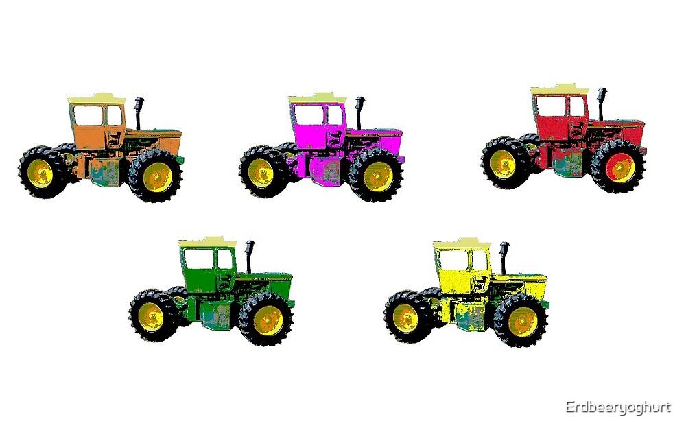 Tractors by Erdbeeryoghurt