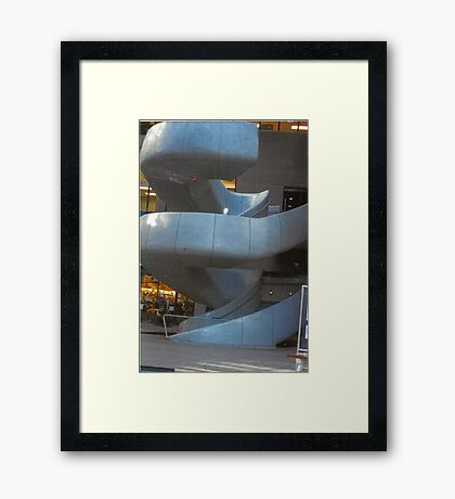 Spiral Walkway Framed Print
