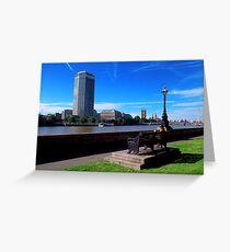 Lambeth, London. Greeting Card
