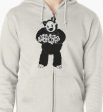AAHIPHOP Love/Hate Bear Zipped Hoodie