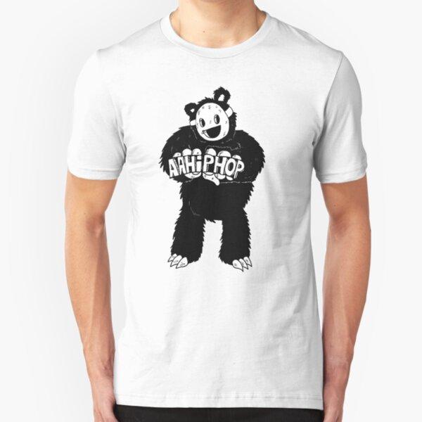 AAHIPHOP Love/Hate Bear Slim Fit T-Shirt