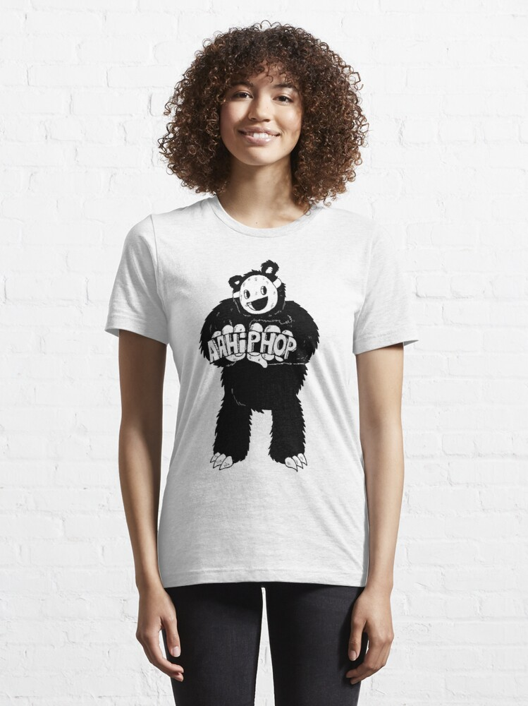 Alternate view of AAHIPHOP Love/Hate Bear Essential T-Shirt