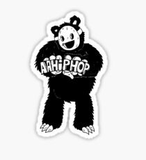 AAHIPHOP Love/Hate Bear Sticker