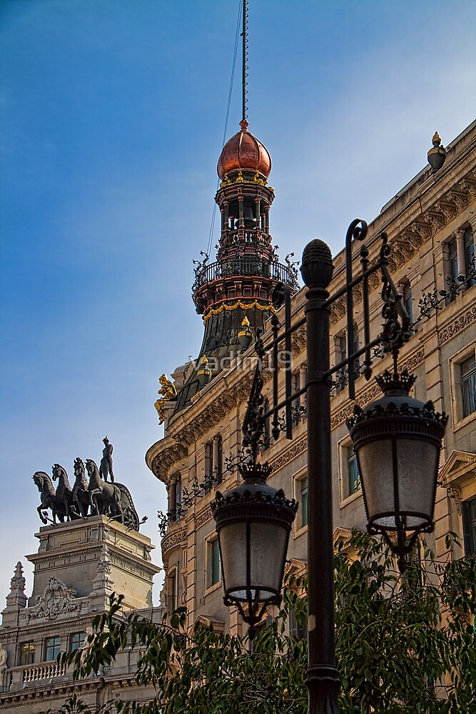Spain. Madrid. Imperial splendour of Madrid. by vadim19
