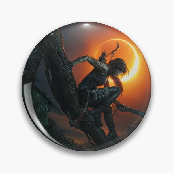 Shadow of the Tomb Raider Pin