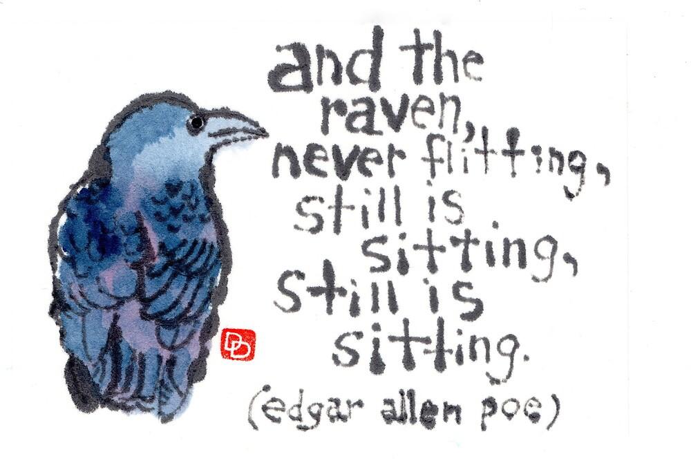 The Raven by dosankodebbie