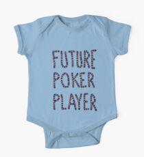 baby poker One Piece - Short Sleeve