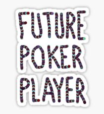baby poker Sticker