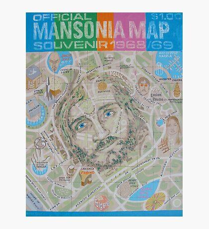 Mansonia Map Photographic Print