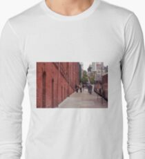 San Francisco Street Scene Long Sleeve T-Shirt