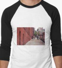 San Francisco Street Scene Men's Baseball ¾ T-Shirt