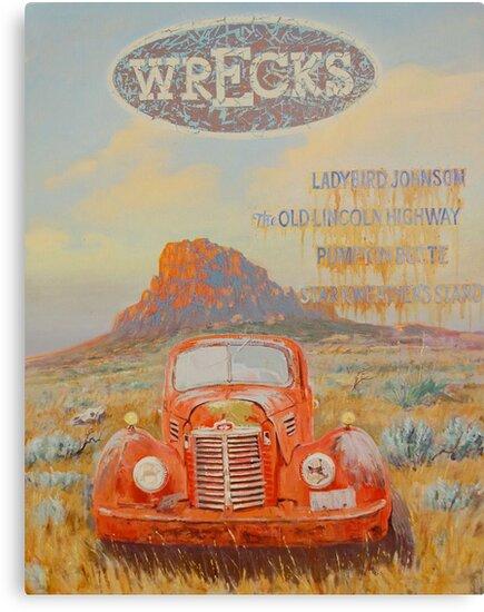 Wrecks by Roman Scott