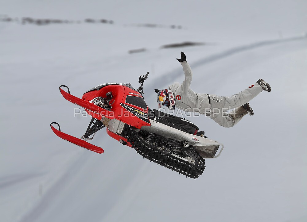 Snowmobile Tricks by Patricia Jacobs DPAGB BPE4
