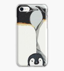 Penguin Hugs iPhone Case/Skin