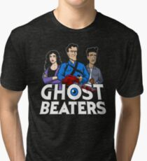 The Ghost Beaters Tri-blend T-Shirt