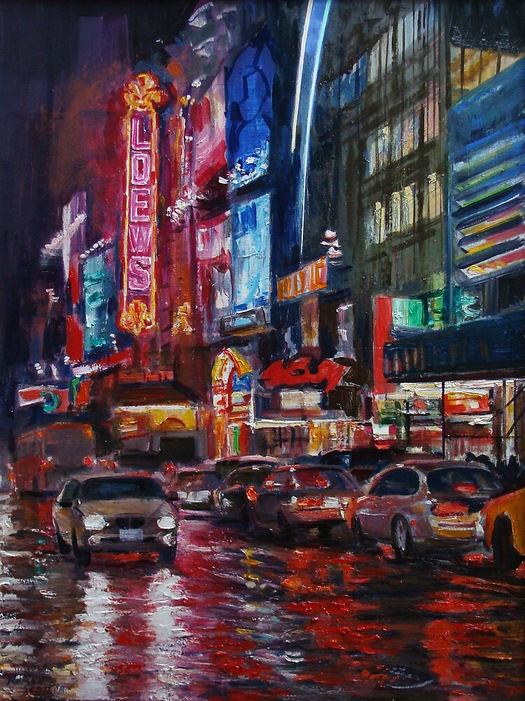 42nd Street by Roman Scott