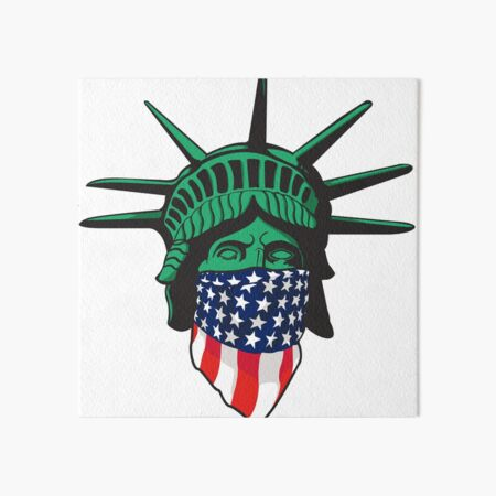 Statue of Liberty USA Art Board Print