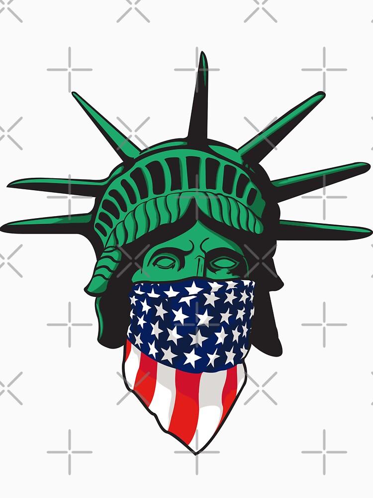 Statue of Liberty USA by joebarondesign