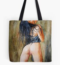 Wet body play Tote Bag