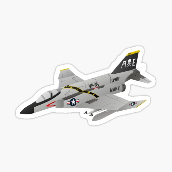 F4 Phantom Sticker