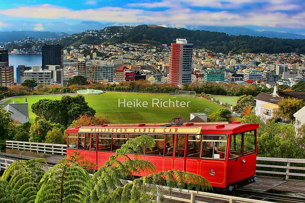 Wellington Cable Car by Heike Richter