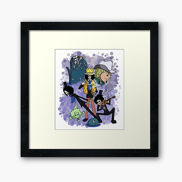 Brook / Time Framed Art Print