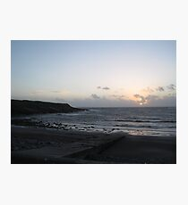 Sunset in West Clare Photographic Print