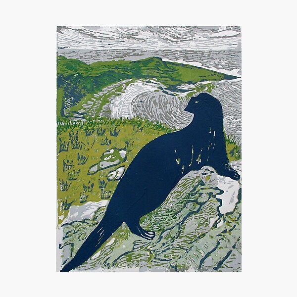 Gavin Maxwell Otter Memorial, Monreith, Scotland Photographic Print