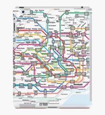 Tokyo Metro Map iPad Case/Skin