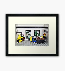 You know that dream you have.... Framed Print